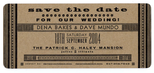 Independent Project Press Wedding Event Invitations – Event Invitations